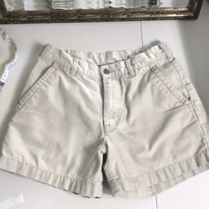 Patagonia organic cotton  hiking shorts khaki 30